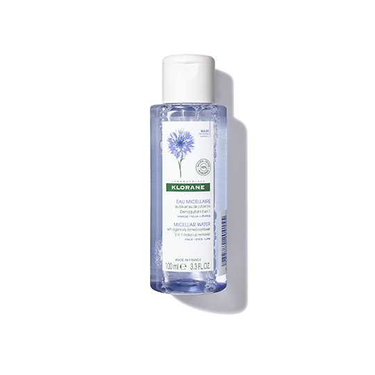 Klorane 3 in 1 Floral Water Makeup-Remover with Cornflower 3.4oz
