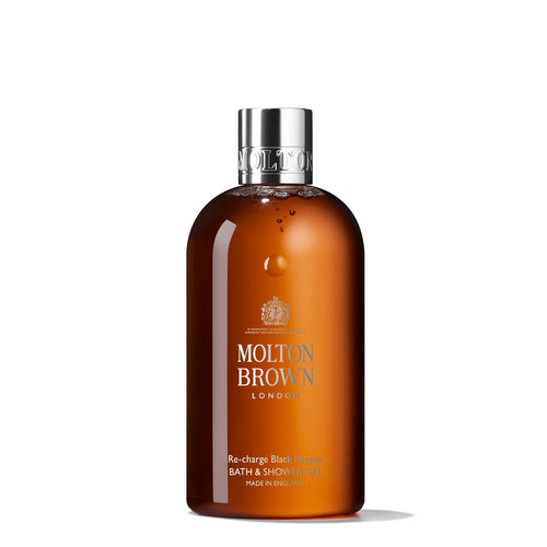 Molton Brown Re-charge Black Pepper Bath & Shower Gel - Woo Skincare and Cosmetics