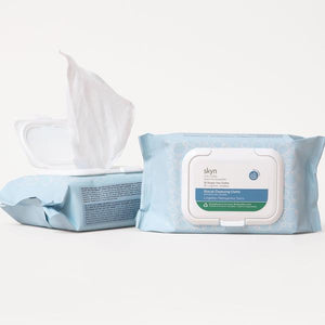 Skyn Iceland Glacial Cleansing Cloths with White Willow Bark