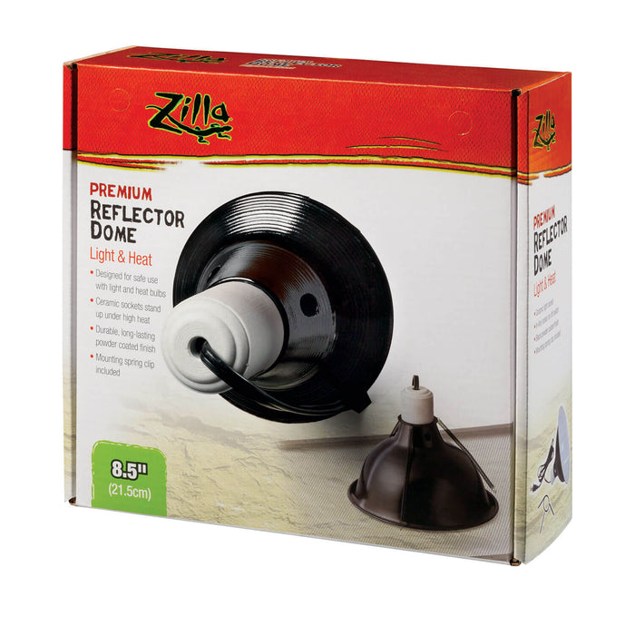 DOME REFLECTOR BLACK CERAMIC