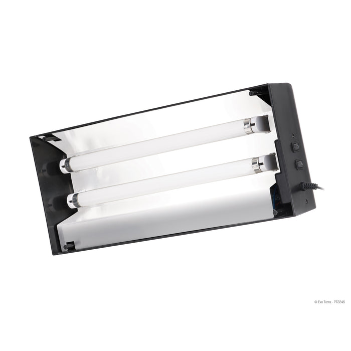 DUAL LINEAR FLUORESCENT CANOPY - 18 IN
