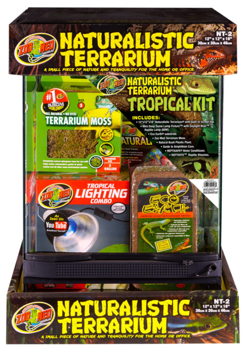 NATURALISTIC TERRARIUM TROPICAL KIT