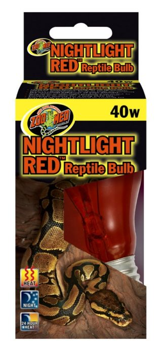 ZOOMED NIGHTLIGHT RED REPTILE BULB