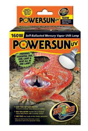 ZOOMED POWERSUN UVB LAMP