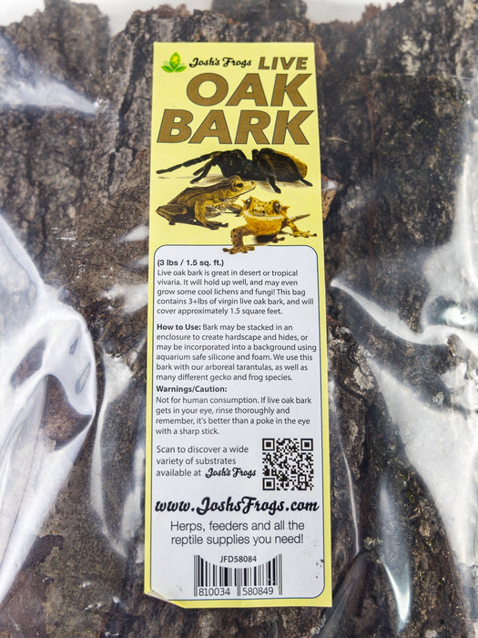 JOSH'S FROGS LIVE OAK BARK (3 LBS)