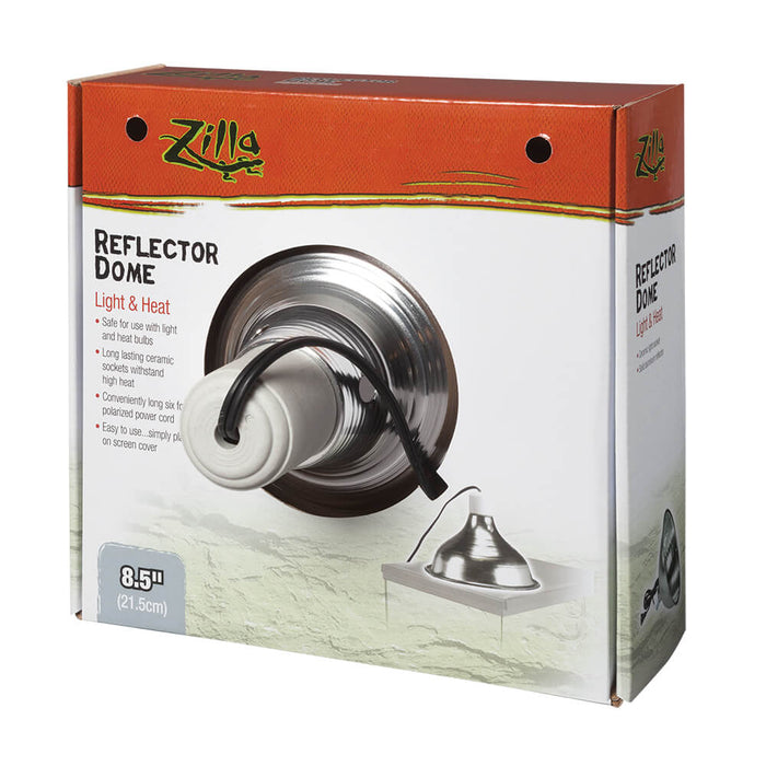 DOME REFLECTOR SILVER CERAMIC