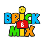Logo for Brick and Mix Ltd, an Independent Lego Shop in Exeter, Devon, UK