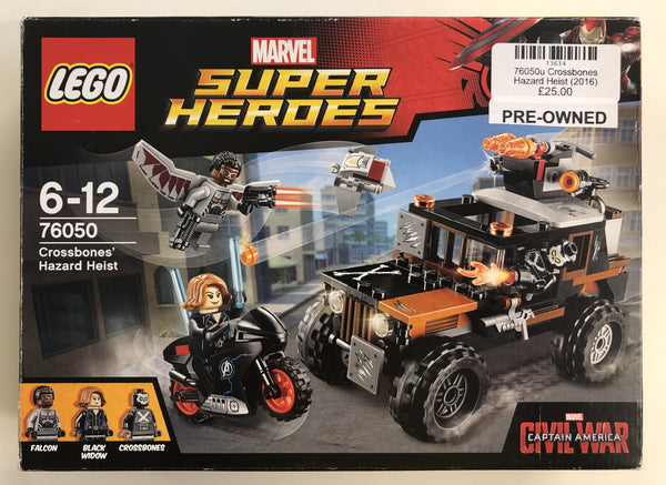 76050 - Crossbones Hazard Heist (2016) PRE-OWNED