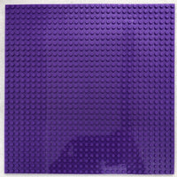 "PURPLE - 32 x 32 Baseplate 10"" (Lego Compatible)"