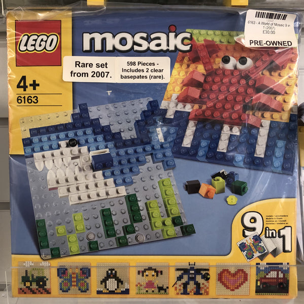 6163 - A World of Mosaic 9 in 1 (2007) PRE-OWNED