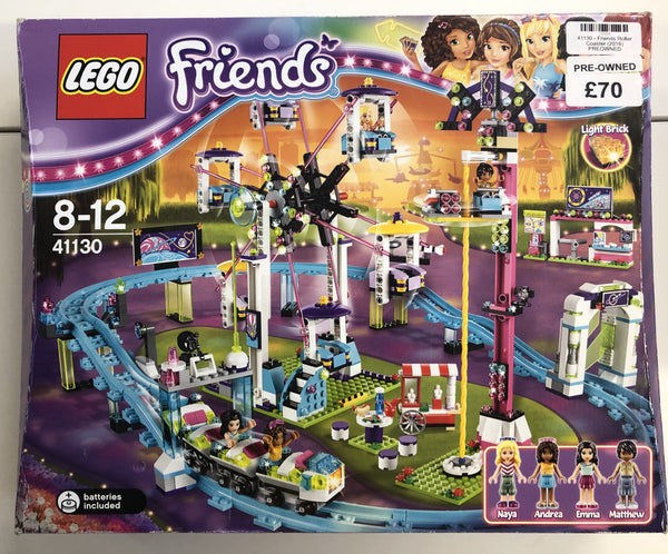 41130 - Friends Roller Coaster (2016) PRE-OWNED