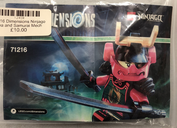 71216  - Dimensions Ninjago Nya and Samurai Mech (2015) PRE-OWNED
