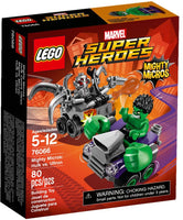 76066 - Mighty Micros: Hulk vs. Ultron (2016)
