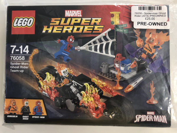 76058 - Spider-Man : Ghost Rider (2016) PRE-OWNED