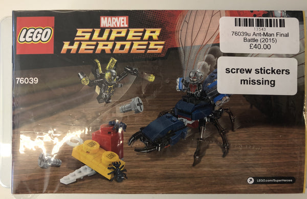 76039 -  Ant-Man Final Battle (2015) PRE-OWNED