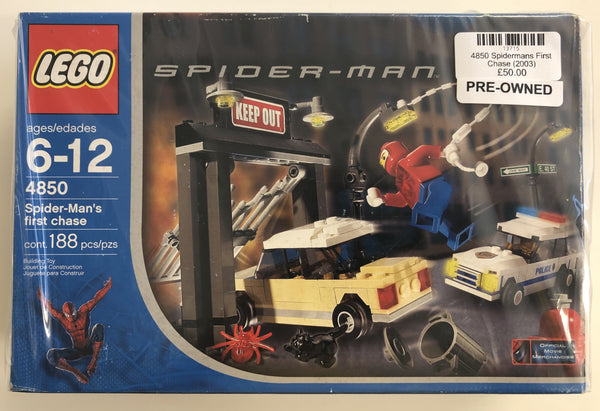 4850  - Spider-Mans First Chase (2003) PRE-OWNED