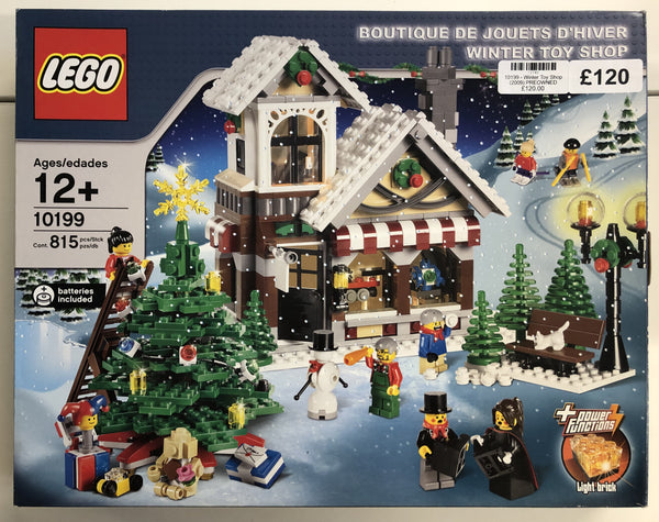 10199 - Winter Toy Shop (2009) PRE-OWNED