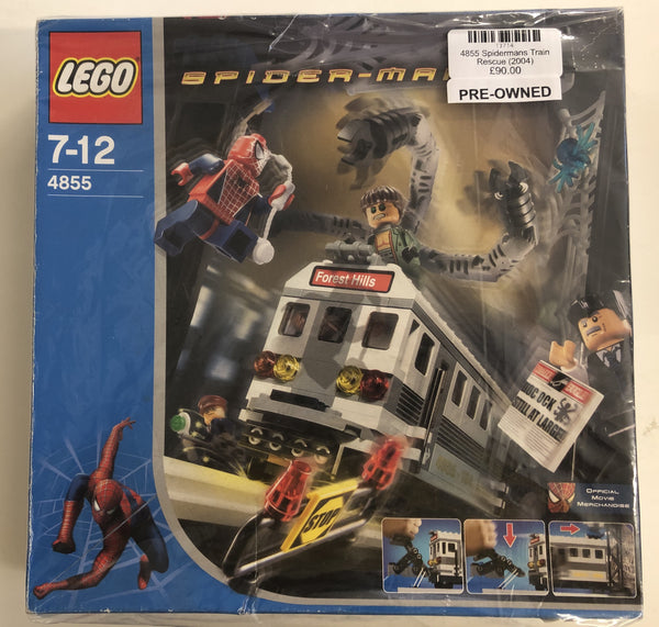 4855 - Spider-Man's Train Rescue (2004) PRE-OWNED