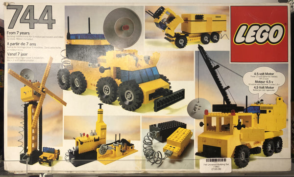 744 - Universal Building Set (1980) PRE-OWNED