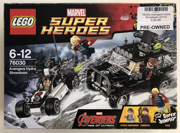 76030 - Avengers Hydra Showdown (2015) PRE-OWNED