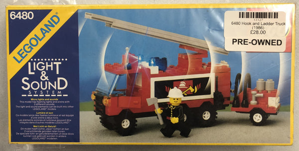 6480  - Hook and Ladder Truck (1986) PRE-OWNED
