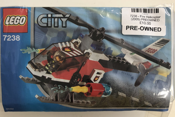 7238 - Fire Helicopter (2005) PREOWNED