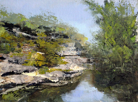"Jacobs Well - Susan Raine - 11"" x 14"""