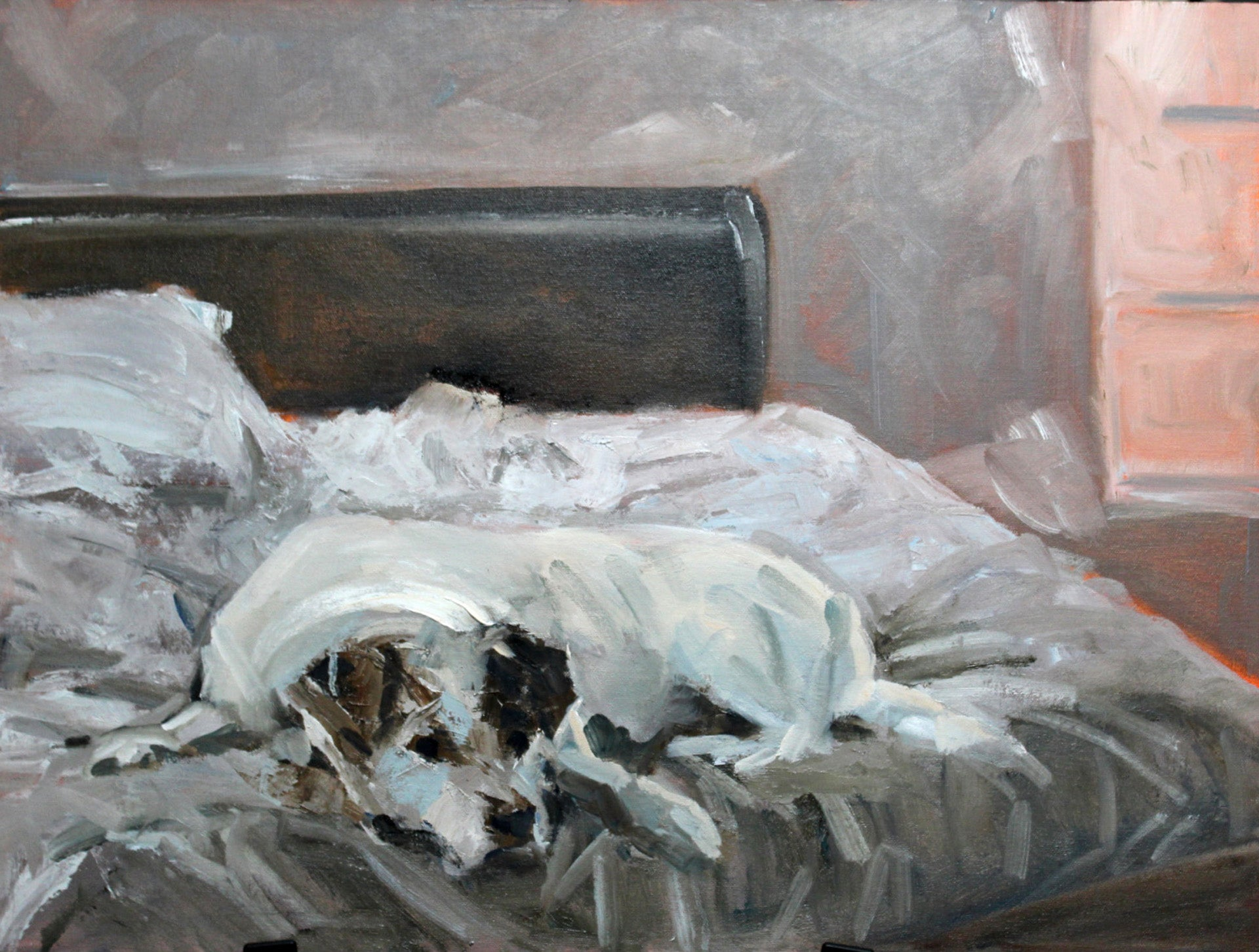 Sleeping In - Susan Raine - 18 x 24