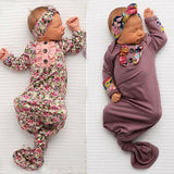 Swaddle Gown/Headband - Jane & Andy Kids