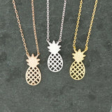 Stainless Steel Pineapple Necklace - Jane & Andy Kids