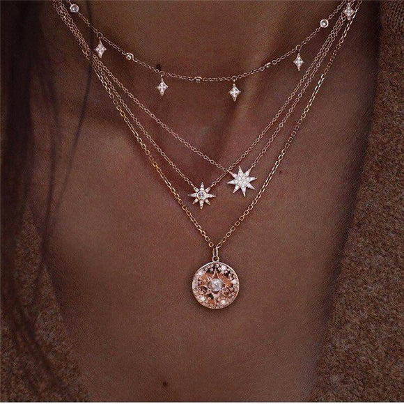 Starlight Multi Chain Necklace - Jane & Andy Kids