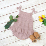 Pointelle Sweater Romper 0-24M - Jane & Andy Kids