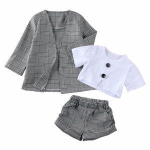 Desiree 3 PC Shorts Set 2T-6T