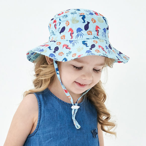 Beach Bucket Hat - Jane & Andy Kids