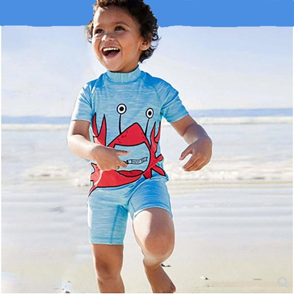 Crabby Swimsuit 3T-7 - Jane & Andy Kids