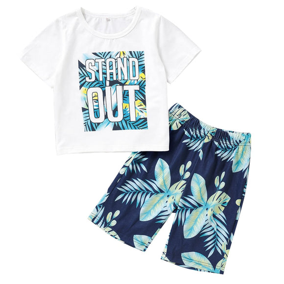 Stand Out Shorts Set 2T-7 - Jane & Andy Kids