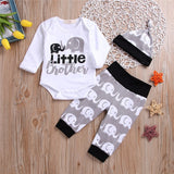 Little Brother Elephant Pants Set 0-36M - Jane & Andy Kids