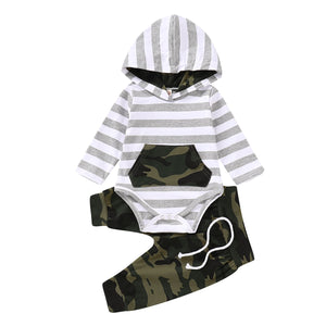 Aiden Hoodie Set 3M-18M - Jane & Andy Kids
