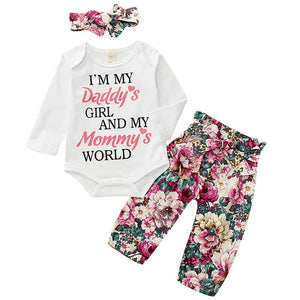 Daddy/Mommy Pants Set 3M-18M - Jane & Andy Kids