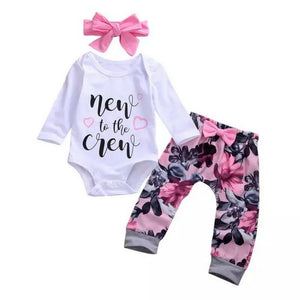 New to the Crew Pants Set 0-18M - Jane & Andy Kids