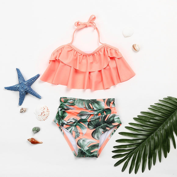 Paradise Two Piece Swimsuit 3T-6 - Jane & Andy Kids