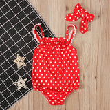 Poppy Polka Dot  Swimsuit 18M-5T