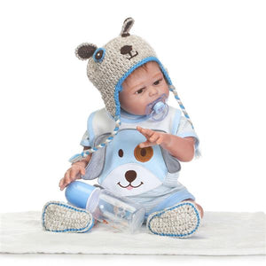 "Lifelike Baby Boy 20"" Doll"