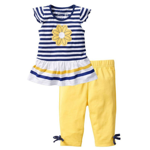 Morgan Capri Set 12M-Girls SZ 7 - Jane & Andy Kids
