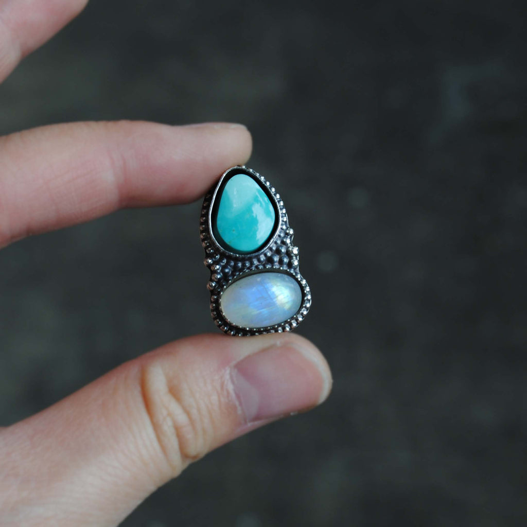 RESERVED: Royston Moonstone Ring (Payment 2)