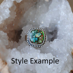 RESERVED: Monarch Opal Ring SIZE 8
