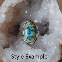 RESERVED: Fire Agate Ring (payment 2)