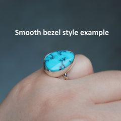 RESERVED: Turquoise Ring Size 9.5