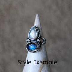 RESERVED: Double Stone Ring