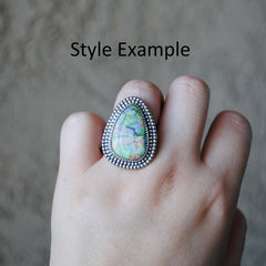 RESERVED: Monarch Opal Ring